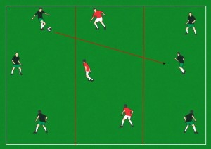 zone passing and defending